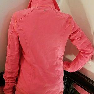 Orange Lululemon align jacket